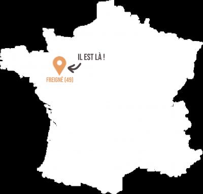 Armel Rondeau Freigné 49 - Livraison de fruits et légumes BIO - Graines d'ici - Nantes