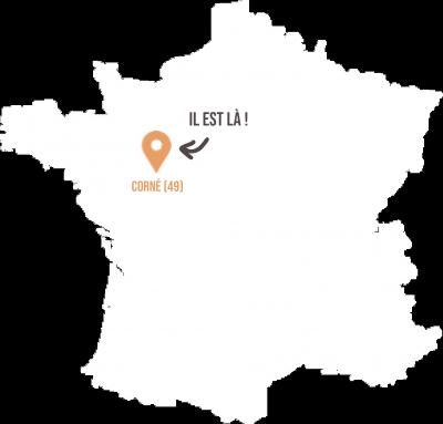 Corné - Anjou - 49 - Livraison de fruits et légumes BIO - Graines d'ici - Nantes