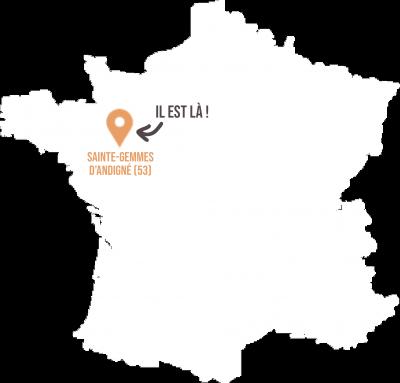 Patrick Gauthier Sainte Gemmes d'Andigné 53 - Livraison de fruits et légumes BIO - Graines d'ici - Nantes