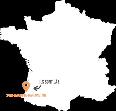 Saint geours de maremne SICA Pays Landais - Livraison de fruits et légumes BIO - Graines d'ici - Nantes