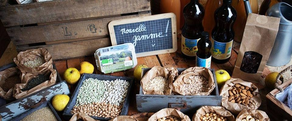 épicerie bio Graines d'ici Nantes