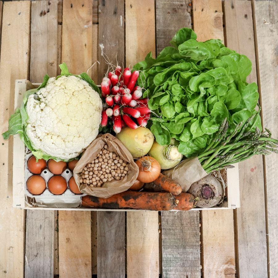 panier fruits et légumes bio livraison à domicile Nantes