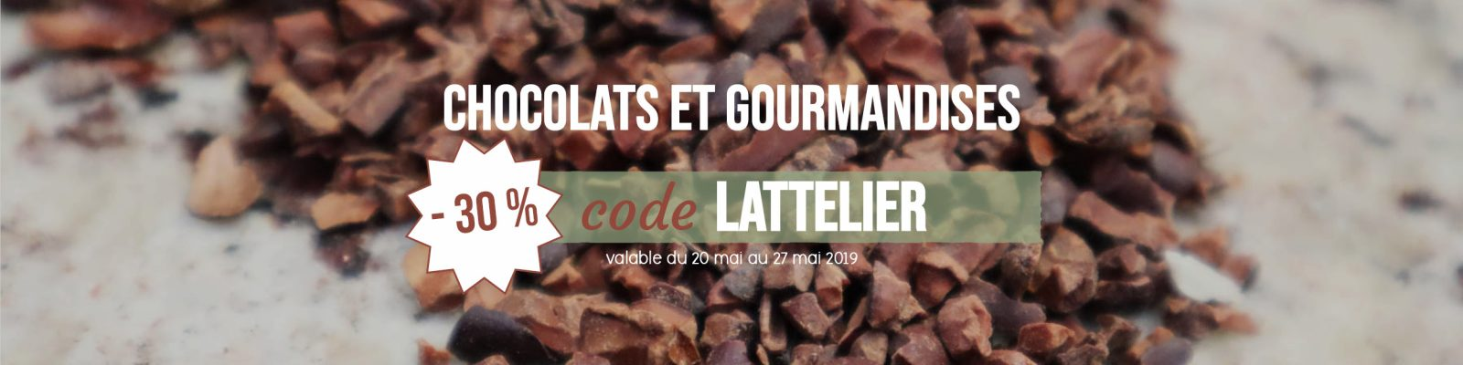 Chocolat Bio et Local livré par Graines d'ici à Nantes