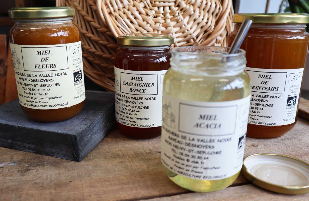 Livraison de miels bio à Nantes