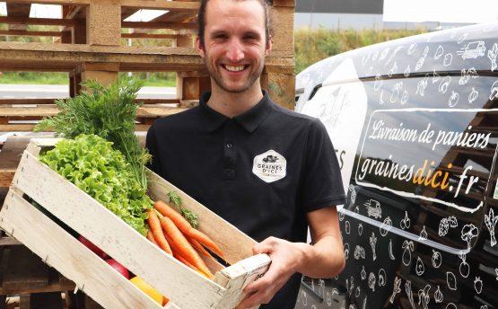 Min de Nantes - Talensac - courses - Livraison de fruits et légumes BIO - Graines d'ici - Nantescomposition