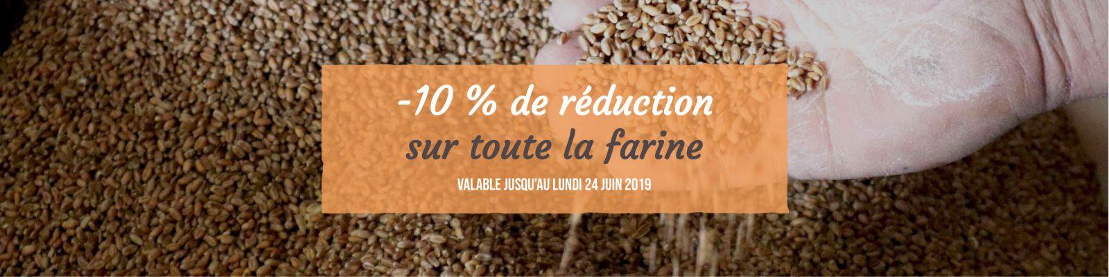 Farine - Livraison de fruits et légumes BIO - Graines d'ici - Nantes