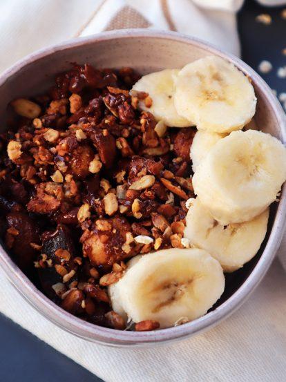 Recette Granola chocolat facile maison BIO - Grainesdici